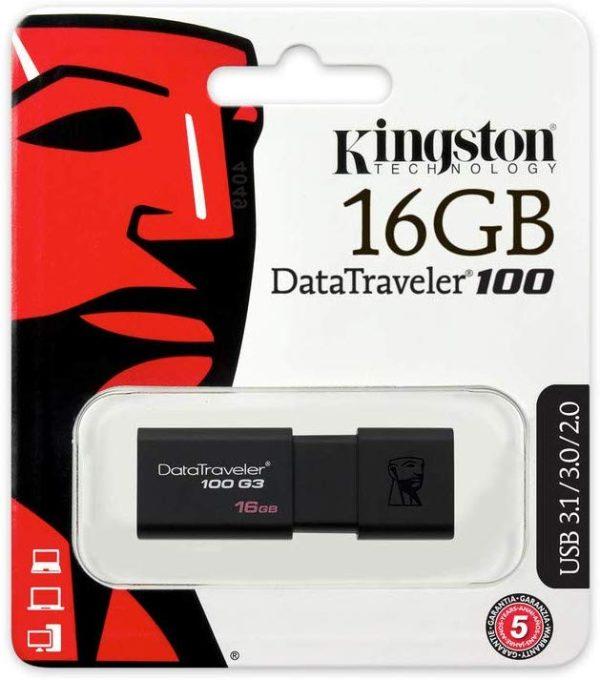 Kingston DT100G3/16GB DataTraveler 100 G3